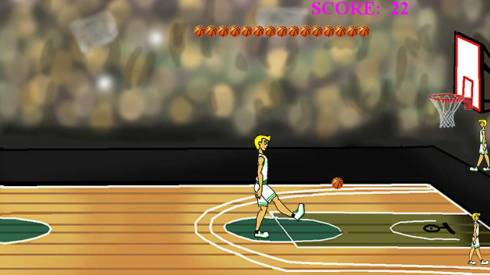 Bafoo free combined android football and basketball game.
