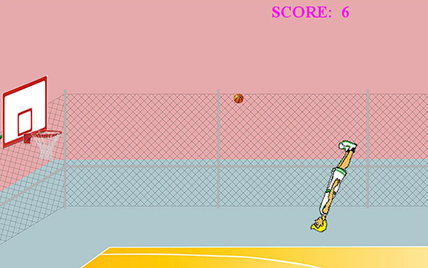 Play basketball shots game free on your mobile device