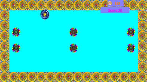 sapphire run playing on 1280 screen phone
