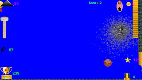 basketball adventure game on Samsung Galaxy phone
